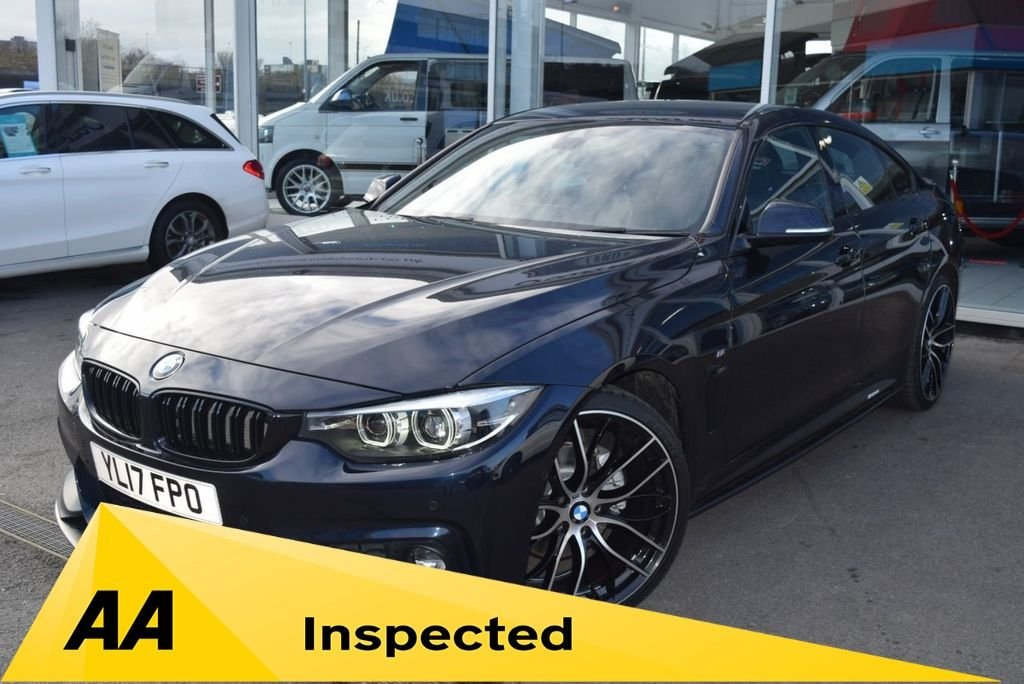 USED 2017 17 BMW 4 SERIES 420D GRAN COUPE M SPORT FINANCE TODAY WITH NO DEPOSIT