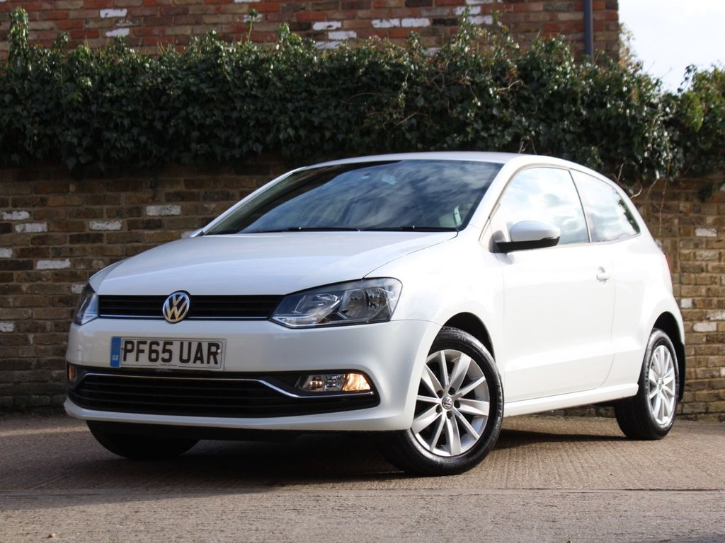 USED 2015 65 VOLKSWAGEN POLO 1.0 SE 3d 60 BHP