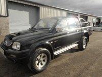 2006 MITSUBISHI L200 2.5 4WD TROJAN LWB DCB 114 BHP LEATHER NO VAT £2991.00