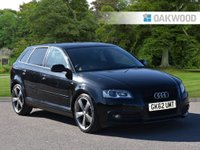 2012 AUDI A3 2.0 SPORTBACK TDI S LINE SPECIAL EDITION 5d 138 BHP SOLD