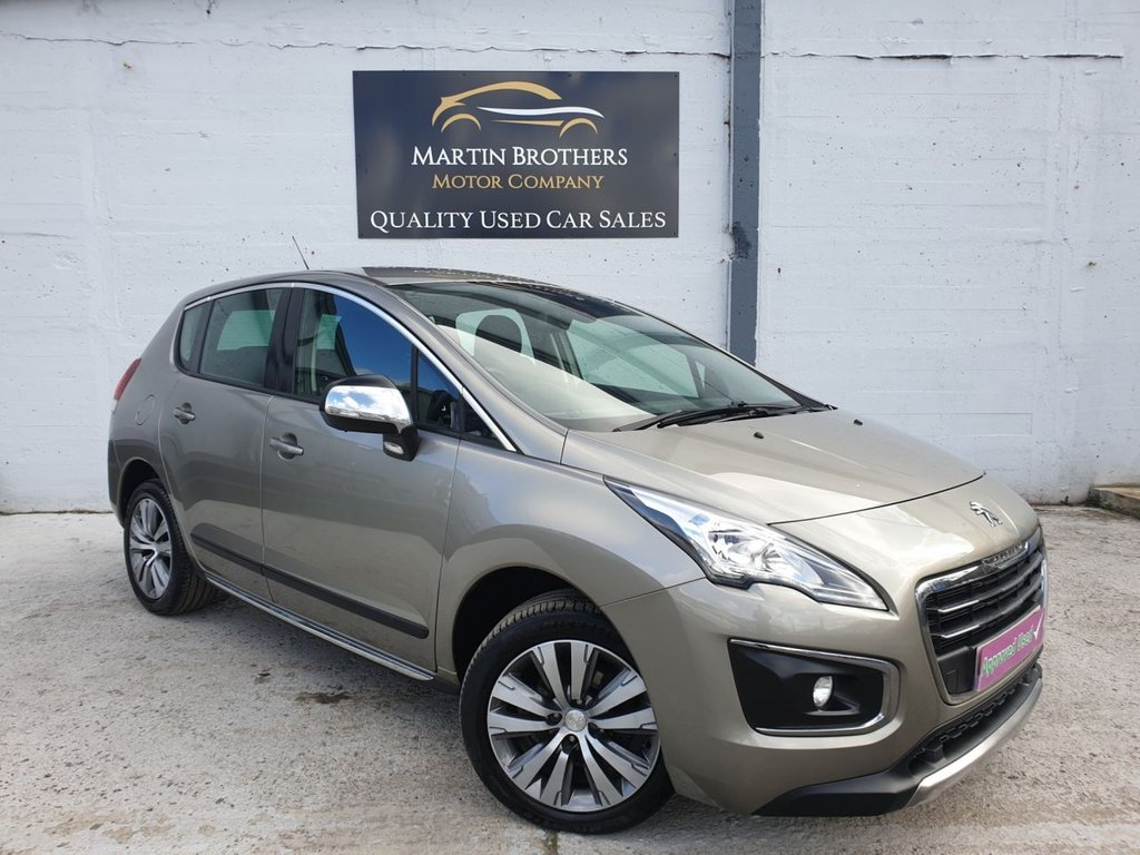 USED 2014 64 PEUGEOT 3008 1.6 HDI ACTIVE 5d 115 BHP