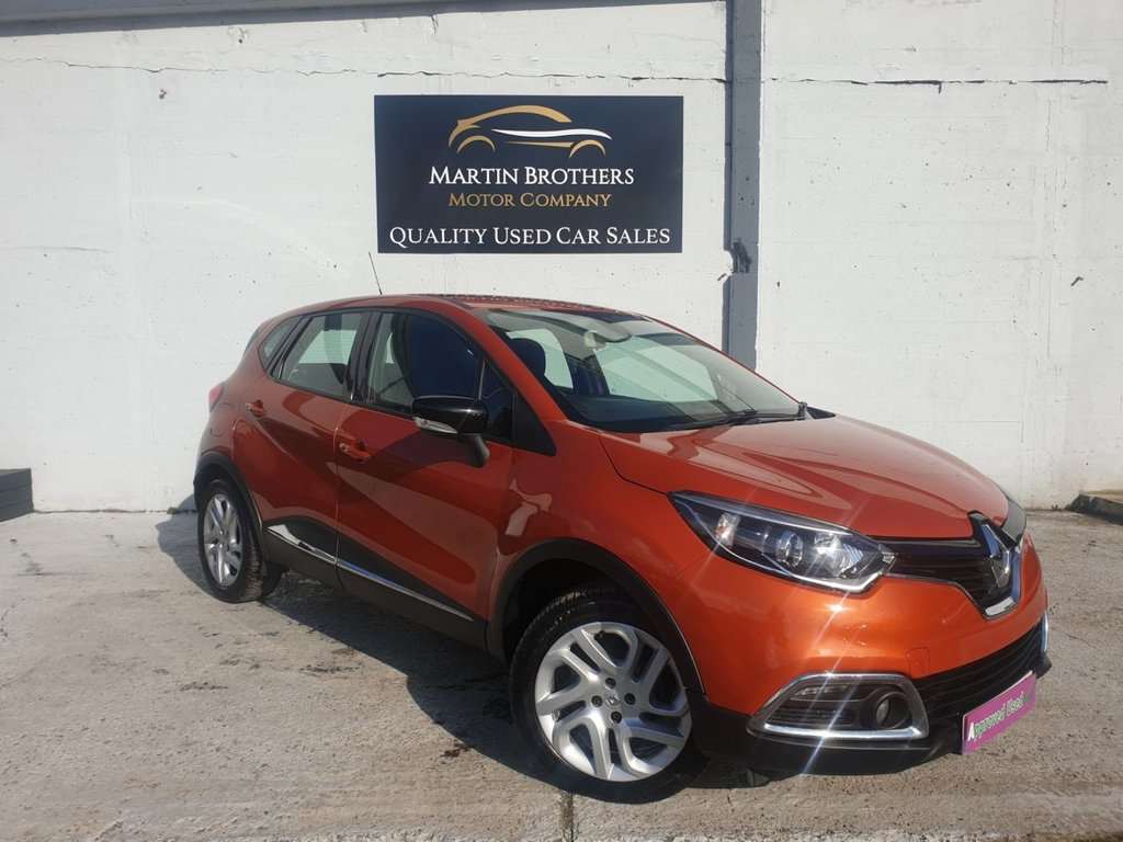 USED 2015 15 RENAULT CAPTUR 0.9 DYNAMIQUE MEDIANAV ENERGY TCE S/S 5d 90 BHP