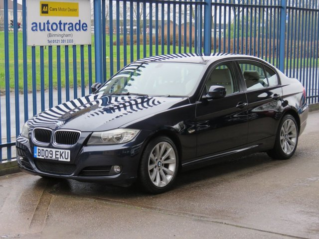 USED 2009 09 BMW 3 SERIES 2.0 318I SE 4dr Full leather Cruise Alloys Climate ULEZ Compliant Finance arranged Part exchange available Open 7 days