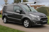 USED 2016 66 FORD TRANSIT CONNECT 1.5 200 LIMITED P/V 118 BHP NO VAT - Dark Grey - Limited - Complementary Warranty -