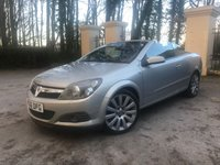 USED 2006 06 VAUXHALL ASTRA 2.0 TWIN TOP DESIGN 3d 200 BHP