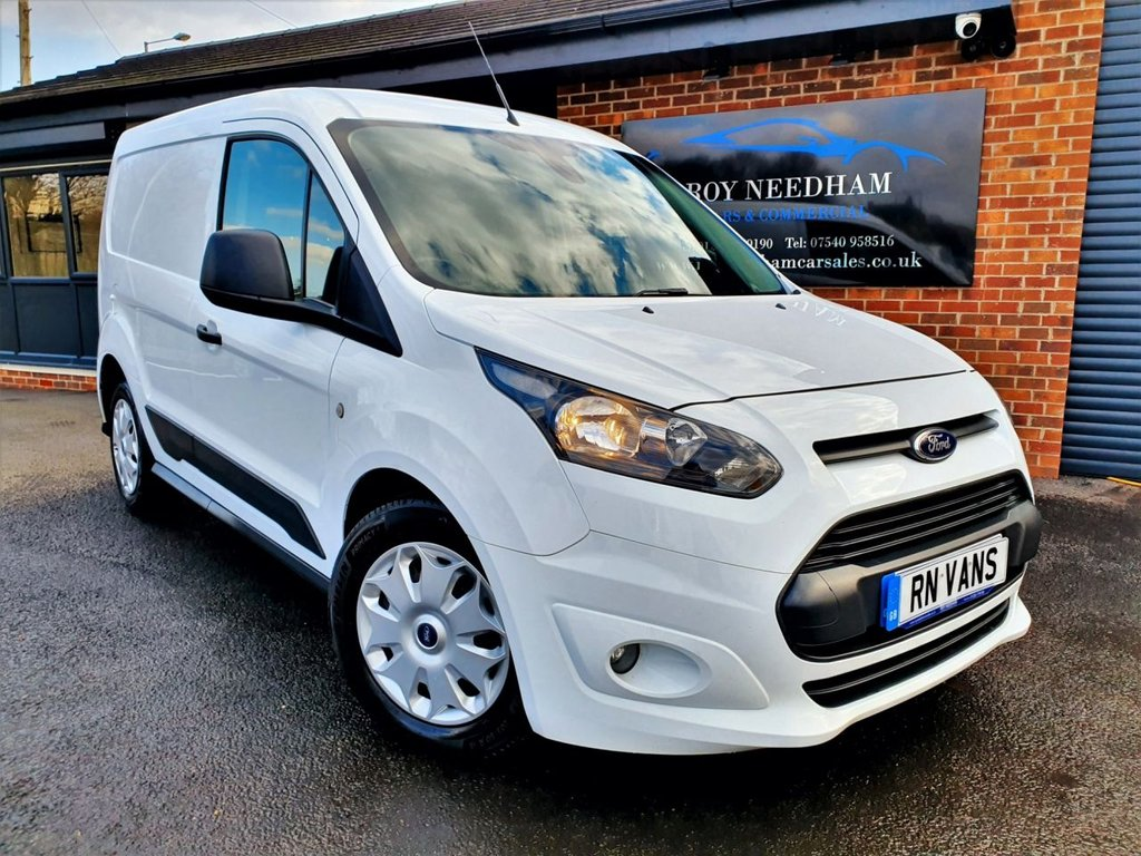 USED 2015 15 FORD TRANSIT CONNECT 1.6 200 TREND P/V 114 BHP * 1 OWNER - FSH - BRAND NEW CAM BELT *