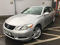 USED 2007 57 LEXUS GS 3.5 450H SE 4d 292 BHP ONLY ONE FORMER KEEPER !!