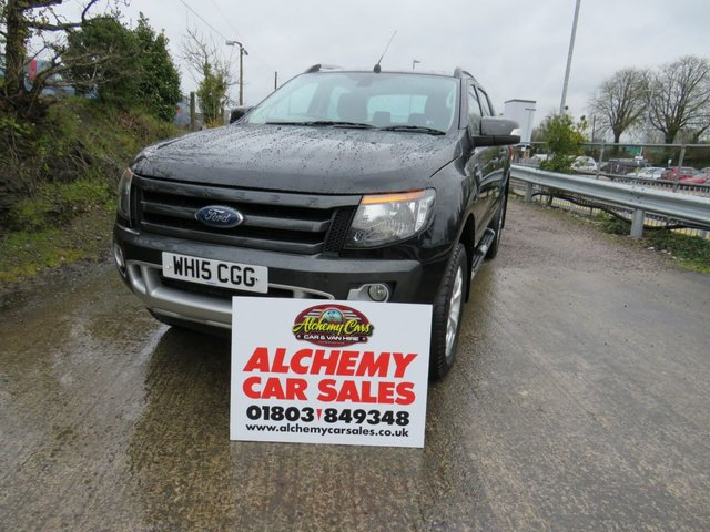 USED 2015 15 FORD RANGER 3.2 WILDTRAK 4X4 DCB TDCI 4d 197 BHP