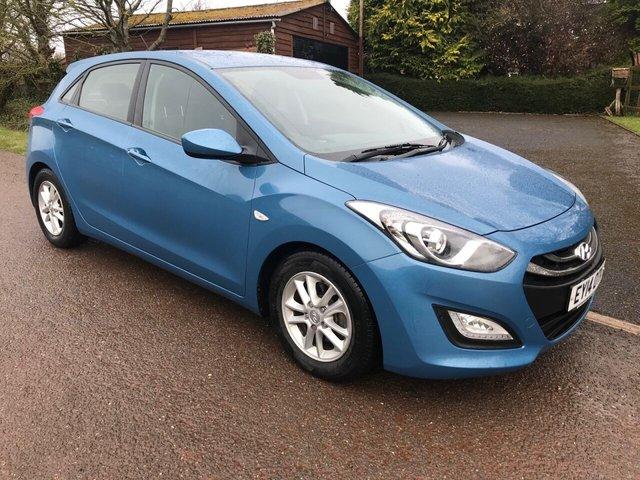 USED 2014 14 HYUNDAI I30 1.6 ACTIVE BLUE DRIVE CRDI  5d 109 BHP £0 Road Tax