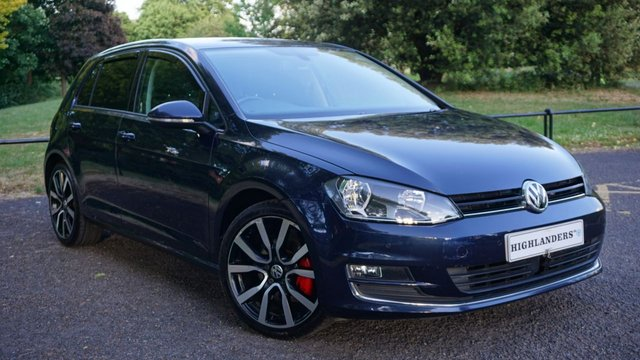 USED 2015 15 VOLKSWAGEN GOLF 2.0 GT TDI BLUEMOTION TECHNOLOGY DSG SAT NAV SENSORS DIFFUSER