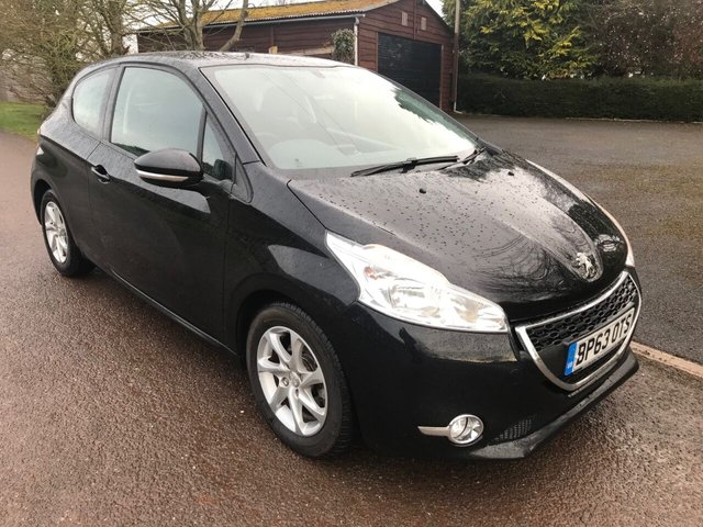 USED 2014 63 PEUGEOT 208 1.6 E-HDI ACTIVE 3d 92 BHP