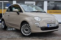USED 2013 62 FIAT 500 1.2 LOUNGE 3d 69 BHP NO DEPOSIT FINANCE AVAILABLE