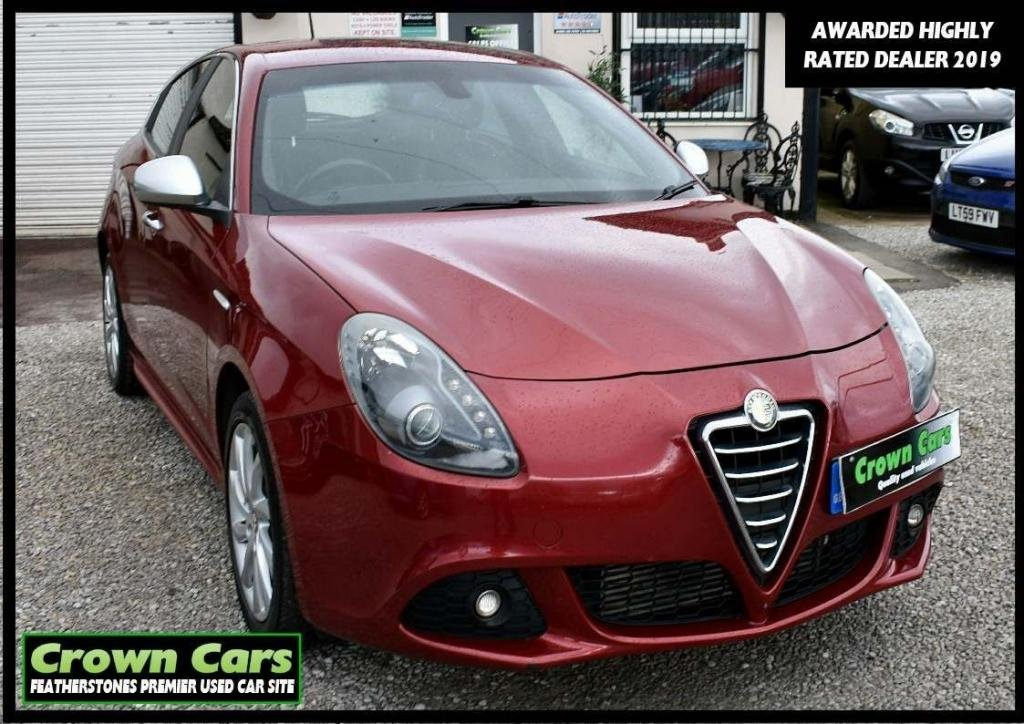 USED 2010 60 ALFA ROMEO GIULIETTA 2.0 JTDM-2 Veloce 5dr RESERVE TODAY VIEW LATER
