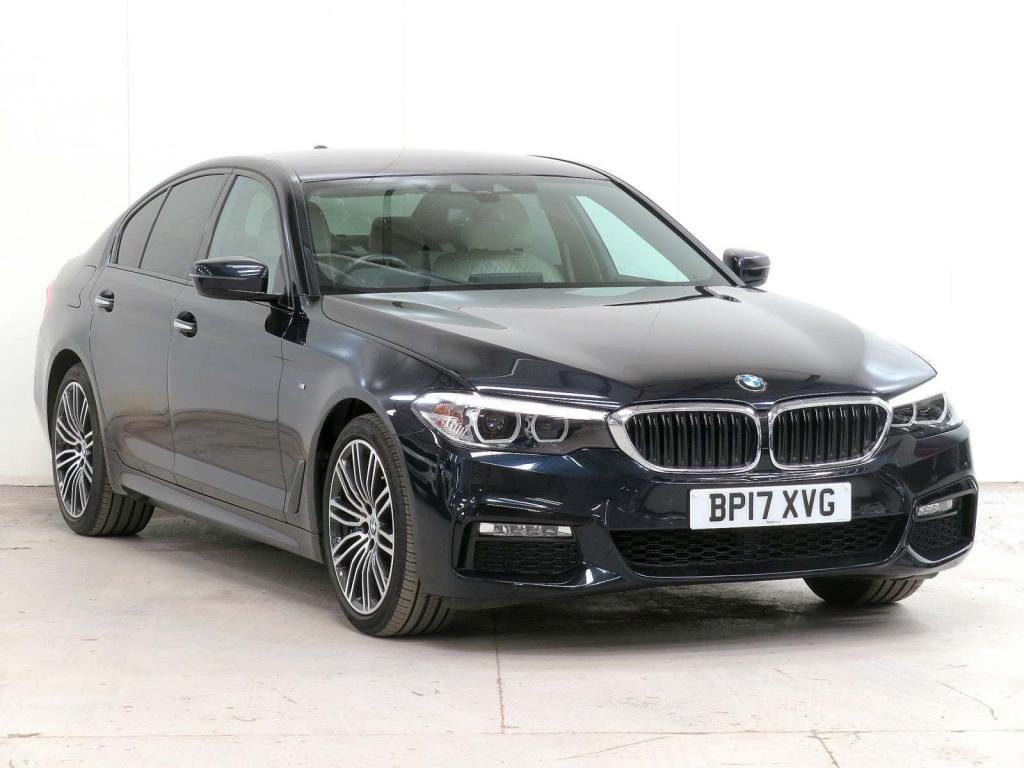 USED 2017 17 BMW 5 SERIES 2.0 530i M Sport Auto (s/s) 4dr **£7,395 EXTRAS**HOME-DELIVERY