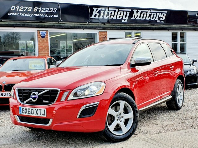 2010 60 VOLVO XC60 2.4 D5 R-DESIGN AWD PANORAMIC ROOF