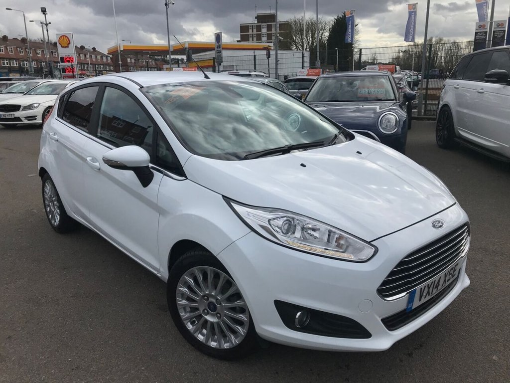 USED 2014 14 FORD FIESTA 1.0 TITANIUM 5d 99 BHP RAC APPROVED!!