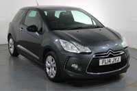USED 2014 14 CITROEN DS3 1.6 E-HDI DSTYLE 3d 90 BHP 3 Stamp SERVICE HISTORY
