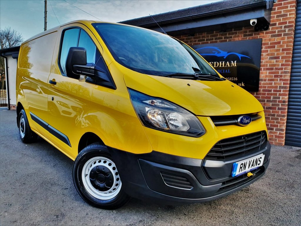 USED 2015 65 FORD TRANSIT CUSTOM 2.2 310 LR P/V 124 BHP *** NEW TIMING CHAIN KIT - AIR CON ***