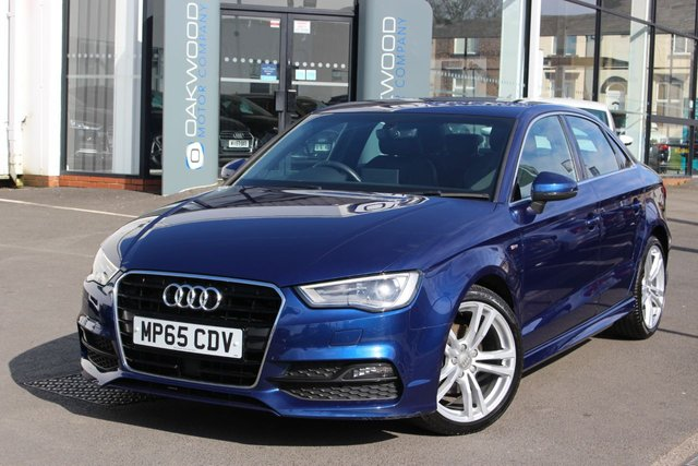 USED 2016 65 AUDI A3 2.0 TDI S line S Tronic (s/s) 4dr