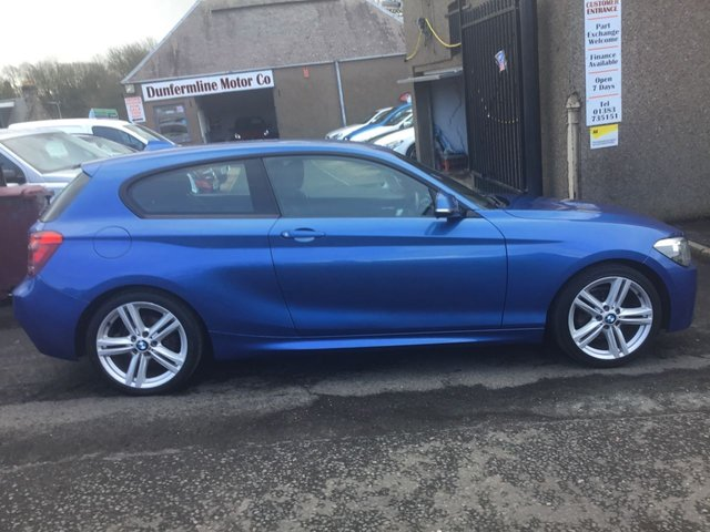 USED 2012 62 BMW 1 SERIES 1.6 116I M SPORT 3d 135 BHP ++FOR FULL DETAILS CALL JOHN ON 07972385205++