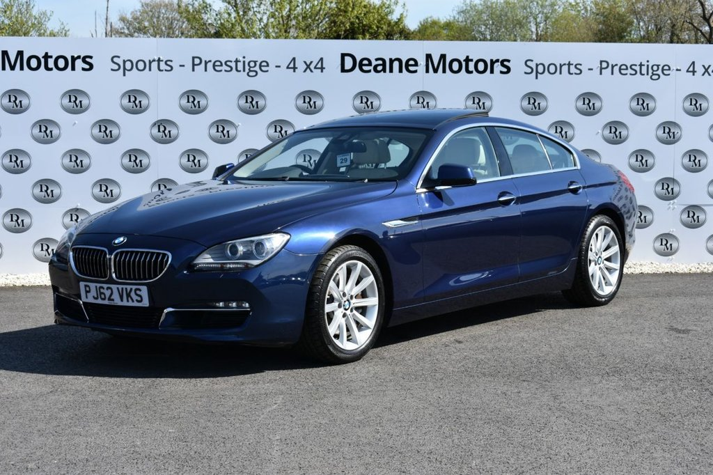 USED 2013 62 BMW 6 SERIES 3.0 640D SE GRAN COUPE 4d 309 BHP GLASS SUNROOF