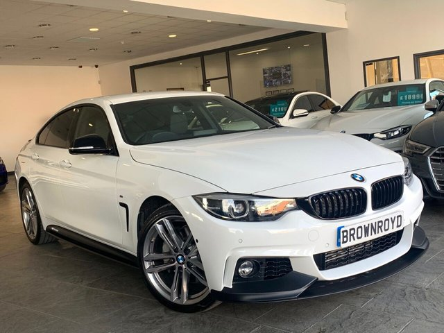 USED 2019 68 BMW 4 SERIES GRAN COUPE 3.0 435D XDRIVE M SPORT GRAN COUPE 4d 309 BHP BM PERFORMANCE STYLING+6.9%APR