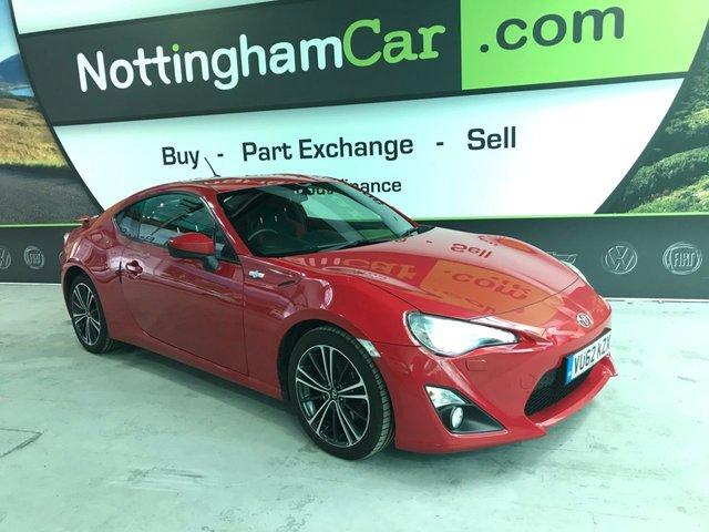 USED 2012 62 TOYOTA GT86 2.0 D-4S 2d 197 BHP