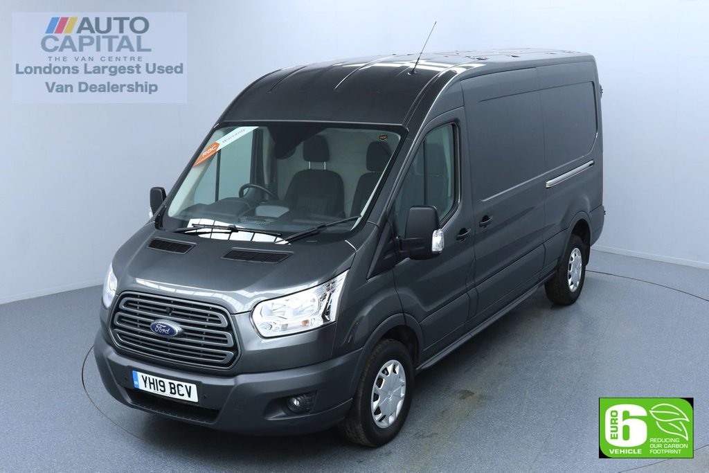 USED 2019 19 FORD TRANSIT 2.0 350 TREND L3 H2 130 BHP EURO 6 ENGINE F-R SENSORS | VOICE CONTROL