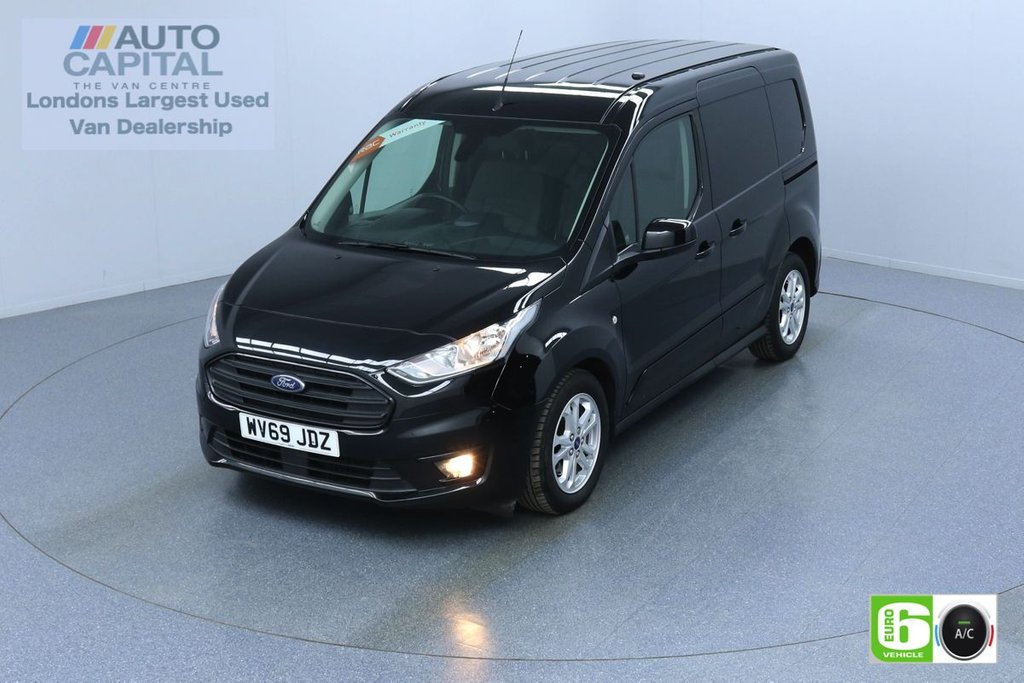 USED 2019 69 FORD TRANSIT CONNECT 1.5 200 LIMITED TDCI 120 BHP L1 SWB AUTO EURO 6 ENGINE KEYLESS | AIR CON | PARKING SENSORS | ALLOY WHEELS