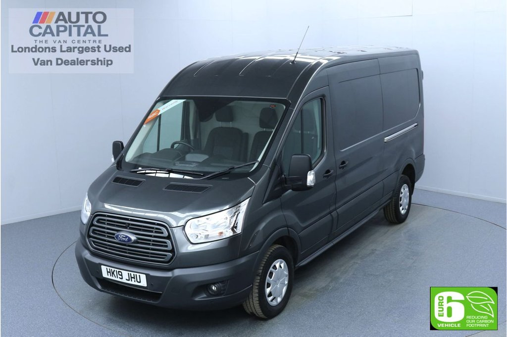 USED 2019 19 FORD TRANSIT 2.0 350 TREND L3 H2 130 BHP EURO 6 ENGINE FINANCE ME TODAY | F-R PARKING SENSORS | VOICE CONTROL