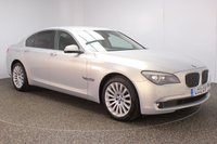 USED 2012 12 BMW 7 SERIES 3.0 730D SE LUXURY EDITION 4DR AUTO 242 BHP SERVICE HISTORY + HEATED FRONT/REAR LEATHER SEATS + SATELLITE NAVIGATION + REVERSE CAMERA + PARKING SENSOR + BLUETOOTH + CRUISE CONTROL + CLIMATE CONTROL + MULTI FUNCTION WHEEL + ELECTRIC/MEMORY FRONT SEATS + ELECTRIC WINDOWS + ELECTRIC MIRRORS + 19 INCH ALLOY WHEELS