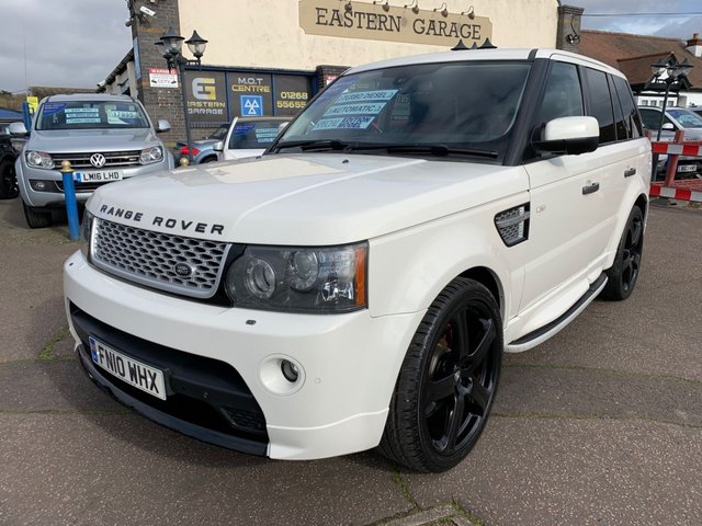 USED 2010 10 LAND ROVER RANGE ROVER SPORT 3.6 TDV8 AUTOBIOGRAPHY SPORT 5d 269 BHP