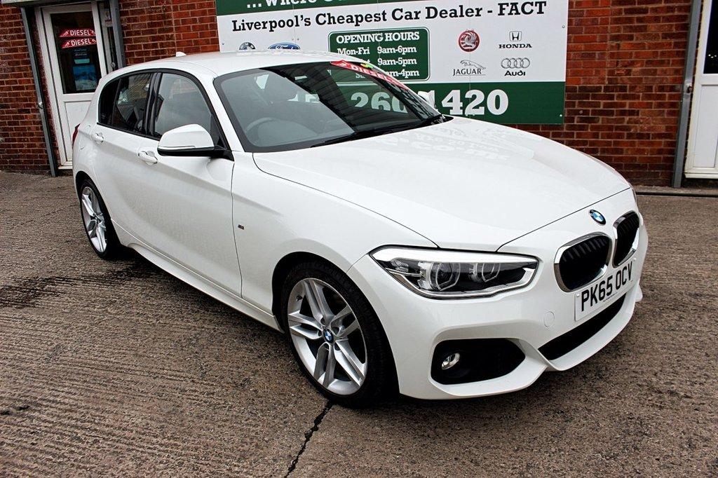 USED 2015 65 BMW 1 SERIES 2.0 120D M SPORT 5d 188 BHP +M SPORT +LOW TAX +SAT NAV.