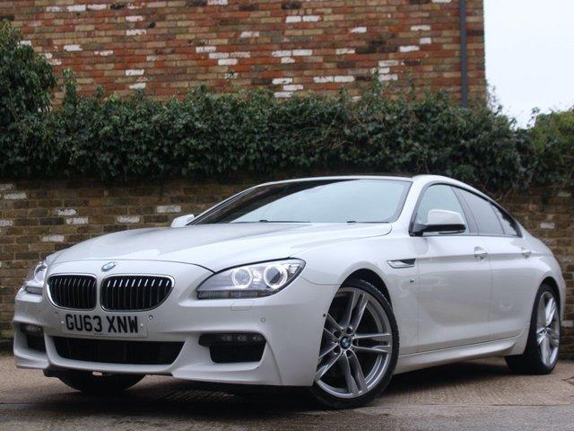 2013 63 BMW 6 SERIES 3.0 640D M SPORT GRAN COUPE 4d 309 BHP