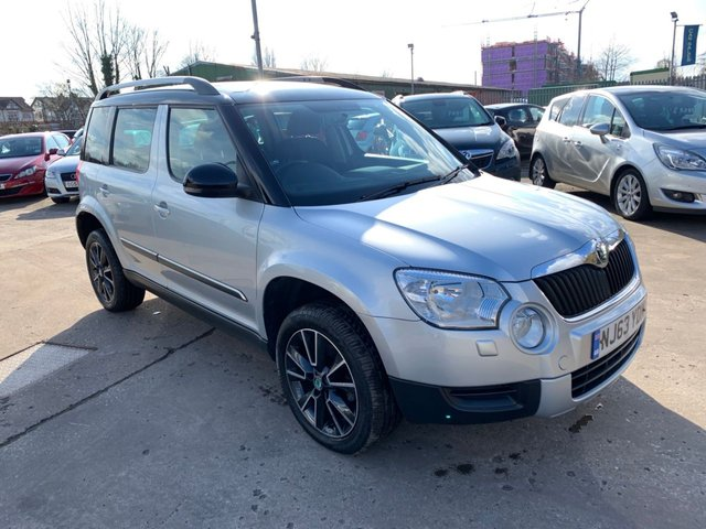 USED 2013 63 SKODA YETI 2.0 ADVENTURE TDI CR 5d 109 BHP ONE OWNER FROM NEW / FULL SERVICE HISTORY