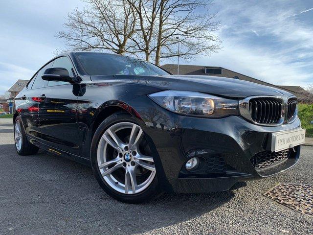 USED 2013 13 BMW 3 SERIES GRAN TURISMO 2.0 320D M SPORT 5d 181 BHP 2KEYS+SATNAV+LEATHER+AIRCON+PRIVGLASS+18ALLOYS+PARKING+ELECS+BMW BUSINESS SATNAV+HEATED SEATS+SUN PROTECTION GLASS+