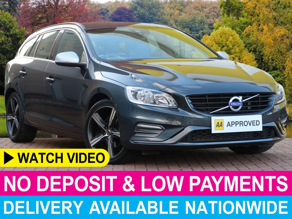 USED 2017 66 VOLVO V60 2.0 D3 R-DESIGN NAV AUTO GEARTRONIC 5DR SAT NAV LEATHER CRUISE CLIMATE