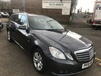 2010 MERCEDES-BENZ E CLASS 2.1 E250 CDI BLUEEFFICIENCY SE 5d 204 BHP SOLD