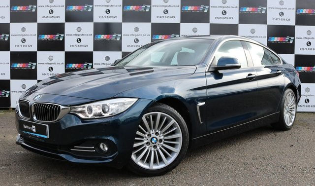 2017 66 BMW 4 SERIES 3.0 430D LUXURY GRAN COUPE 4d 255 BHP