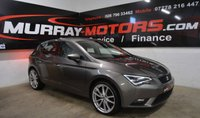 USED 2014 SEAT LEON 1.6 TDI SE TECHNOLOGY 5DOOR 105 BHP *SAT NAV*