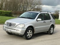 2004 MERCEDES M-CLASS ML270 CDI INSPIRATION AUTO SOLD