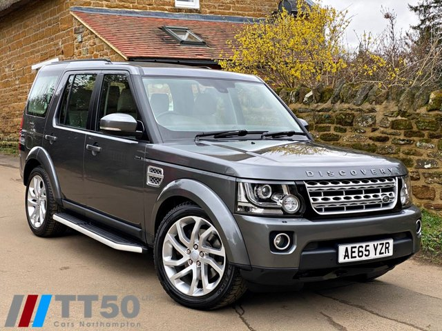 2015 65 LAND ROVER DISCOVERY 3.0 SDV6 HSE 5d 255 BHP