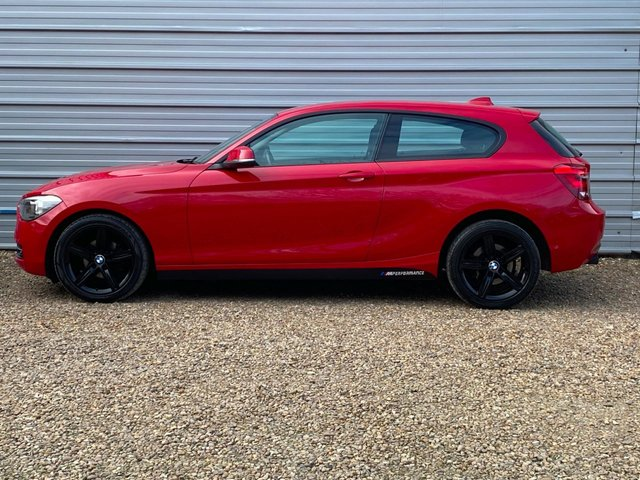 USED 2013 13 BMW 1 SERIES 1.6 114I SPORT 3d 101 BHP Only 28,000miles Petrol 114i