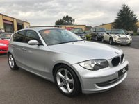 2008 BMW 1 SERIES 1.6 116I SE 5d 121 BHP £3789.00