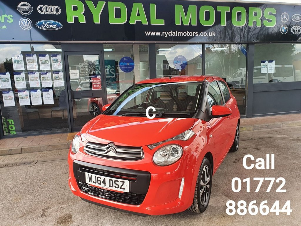 USED 2014 64 CITROEN C1 1.0 FEEL 5d 68 BHP