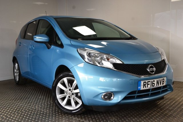 USED 2016 16 NISSAN NOTE 1.2 ACENTA DIG-S 5d 98 BHP RARE NISSAN NOTE AUTOMATIC