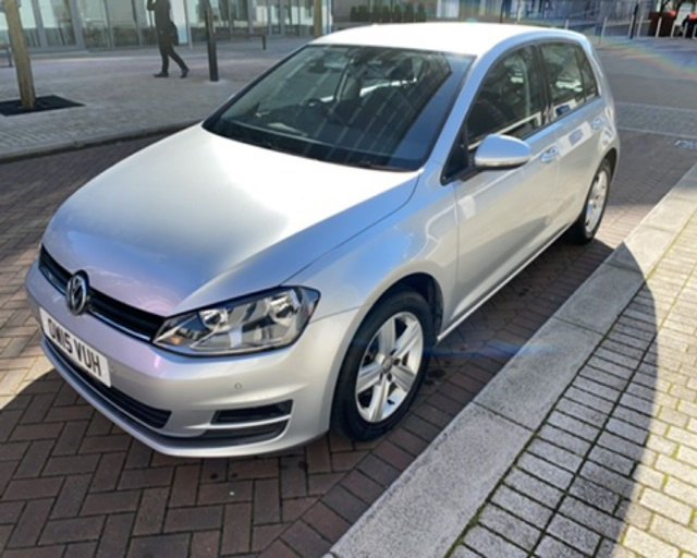 2015 15 VOLKSWAGEN GOLF 1.4 MATCH TSI BLUEMOTION TECHNOLOGY DSG 5d 120 BHP