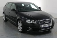 USED 2010 10 AUDI A3 1.8 TFSI S LINE 5d 158 BHP ONE OWNER with 8 Stamp SERVICE HISTORY