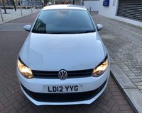2012 VOLKSWAGEN POLO 1.2 MATCH 5d 59 BHP SOLD