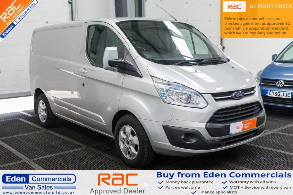 USED 2016 16 FORD TRANSIT CUSTOM 2.2 270 LIMITED 124 BHP * AIR CON + HEATED SEATS *